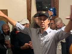 Beto O'Rourke calls for urgent responses to gun violence, climate change