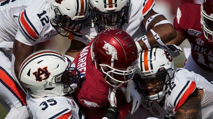 Auburn bounces back, but did it improve enough to take down LSU?