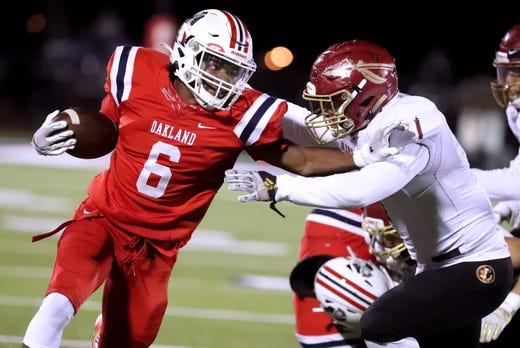 Tennessee high school football Associated Press statewide rankings