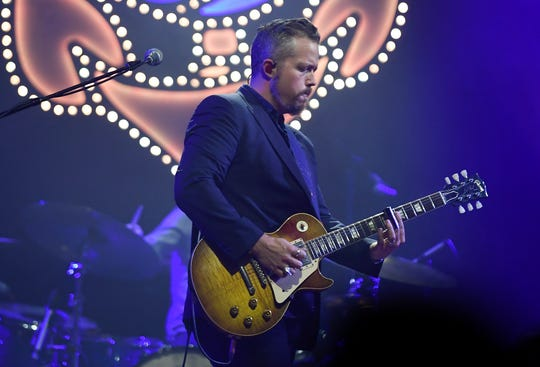 Jason Isbell performs Oct. 18, 2019, at the Ryman Auditorium. He's sold out the legendary Nashville venue 27 times.