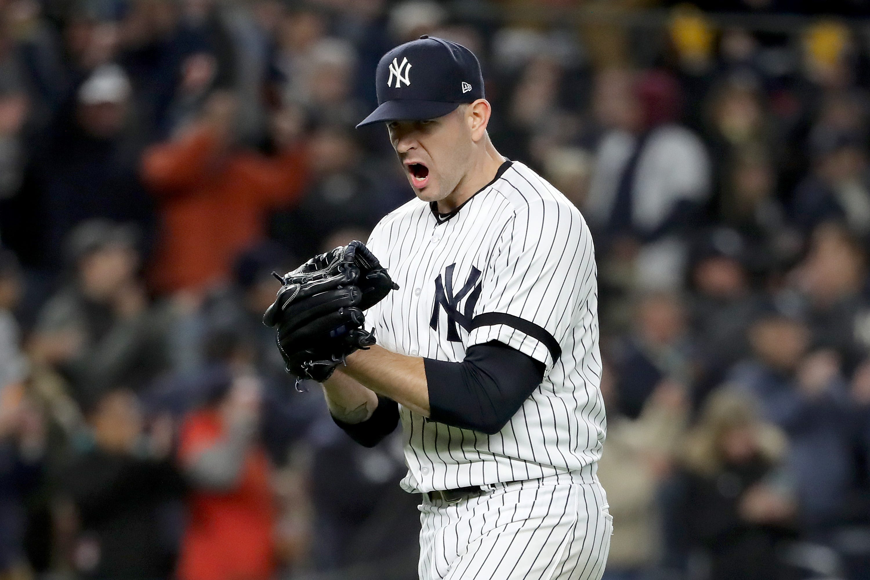 New York Yankees react to Game 5 win over Houston Astros