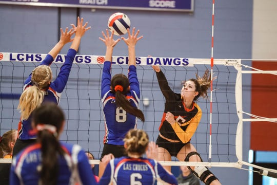 Centennial and Las Cruces were among the volleyball teams selected to play in this week's state volleyball tournament.