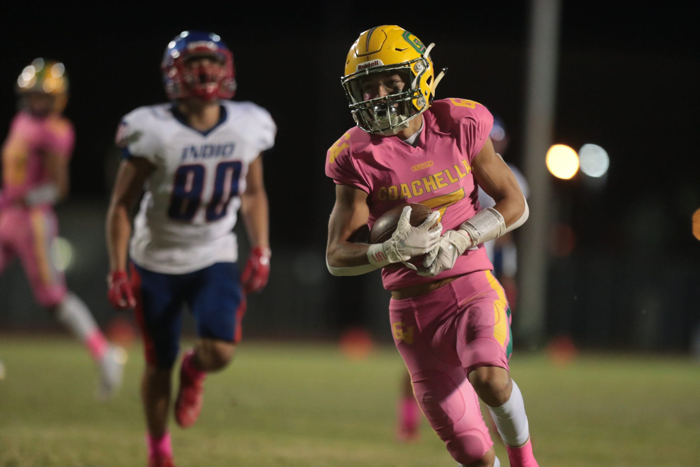 Adan is among the fastest players in the Coachella Valley.