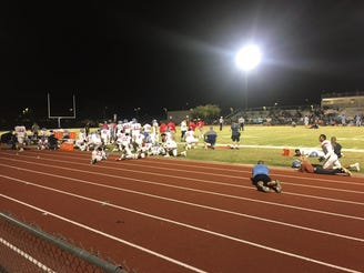 A game between South Mountain and Betty H. Fairfax was disrupted by gun shots outside of the stadium and off campus on Oct. 18.