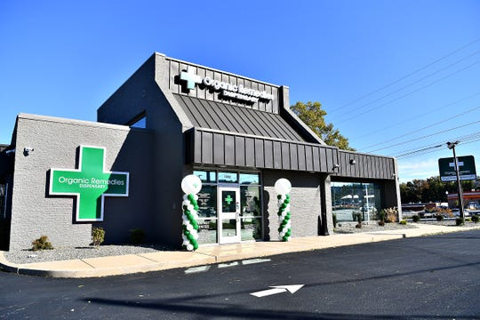 Organic Remedies Dispensary, located at 1098 Haines Rd. in Springettsbury Township, Saturday, Oct. 19, 2019. The medical marijuana dispensary is the second to open in the York area. Dawn J. Sagert photo