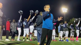 Ashton Torrey received a huge ovation for his rendition of 'The Star-Spangled Banner' before the Eastridge football game.