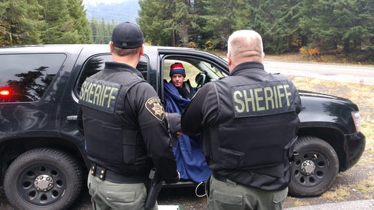 Lost hiker rescued in Oregon snowstorm: 'I wouldn't have survived another night'