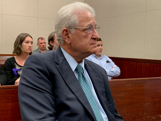 State Attorney Bruce Colton listens to testimony during Michael Jones' capital murder trial at the Indian River County Courthouse Oct. 15, 2019.