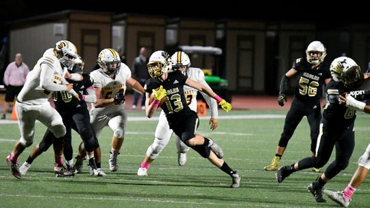 If Oak Park goes unbeaten in the regular season again this season, the Eagles will certainly be put in a higher playoff division than last year.
