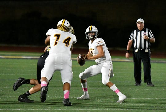 Simi Valley High quarterback Travis Throckmorton was named to the first team of the Canyon League.