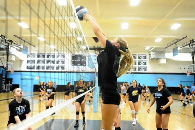 Kendall Owens had nine kills and 20 digs for Buena in its loss to St. Anthony in a Division 4 second-round match Saturday.