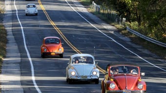 The 8th annual Fall Foliage VW Air-Cooled Cruise was held in Rockland and Westchester, Oct. 19, 2019.
