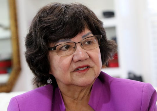 Former Dallas County Sheriff Lupe Valdez cites lawmakers who benefit from pro-gun political contributions as one of the reasons for Texas' loose gun laws.