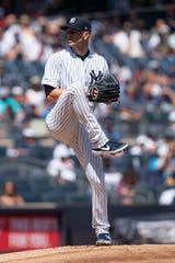 J.A.. Happ could be one of many Yankees pitchers used in Game 6.
