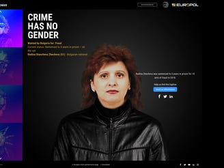 Europol's 'Crime Has No Gender ' campaign lists 'most wanted' women fugitives