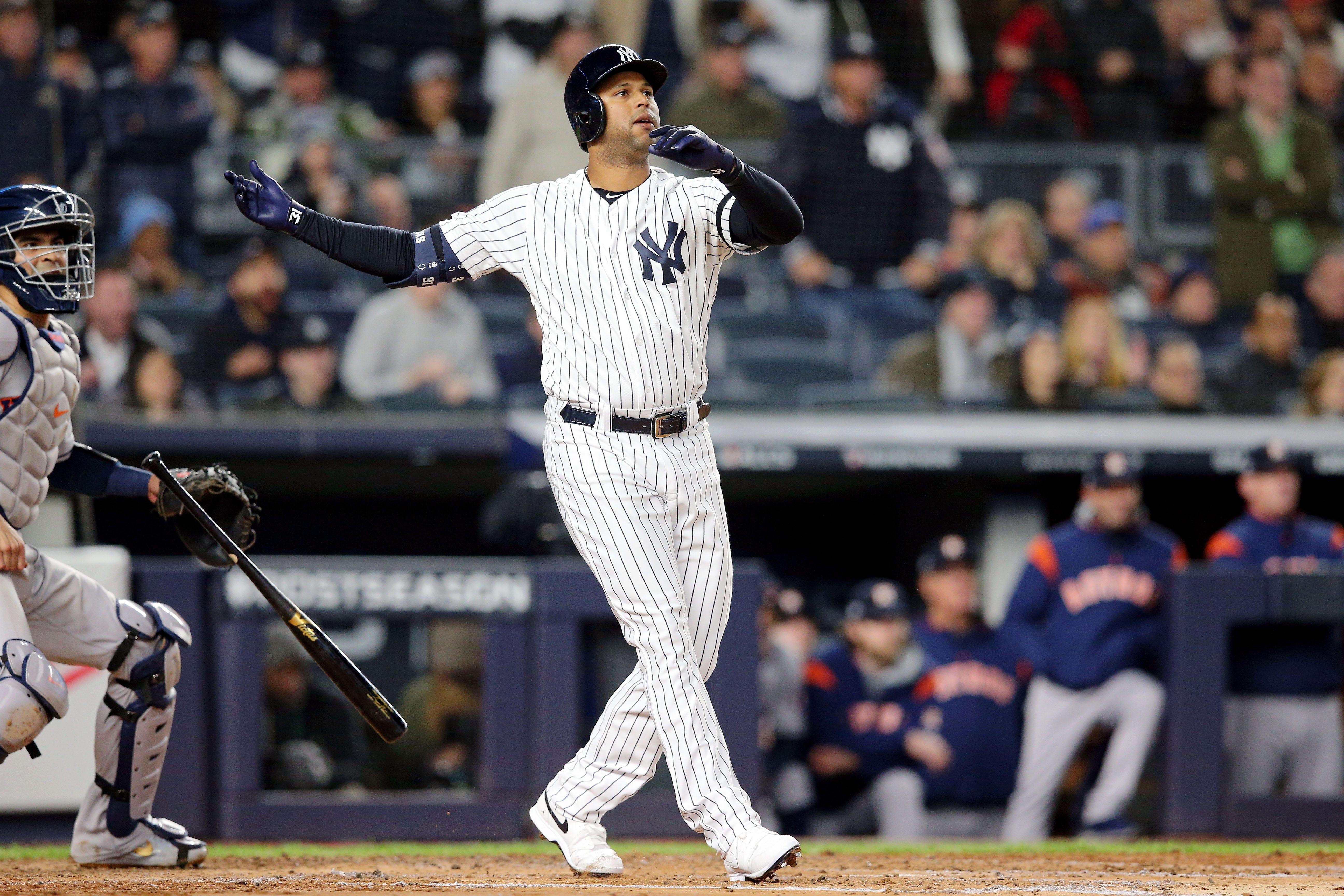 Mlb Playoffs Yankees Beat Justin Verlander Astros In Game