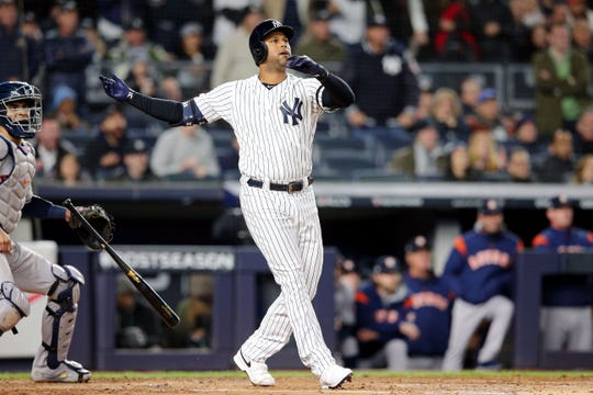 Westlake Legal Group 9754558d-80ee-4fbc-90b5-2cc3f588458e-USATSI_13533307 Yankees stave off elimination, beat Justin Verlander, Astros in Game 5 of ALCS