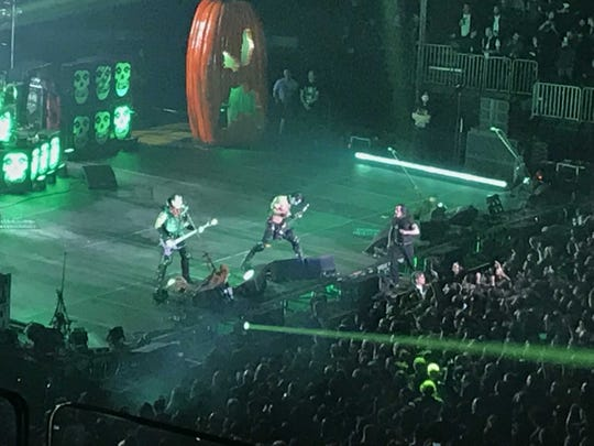 The Misfits at Madison Square Garden on Saturday, Oct. 19, 2019.