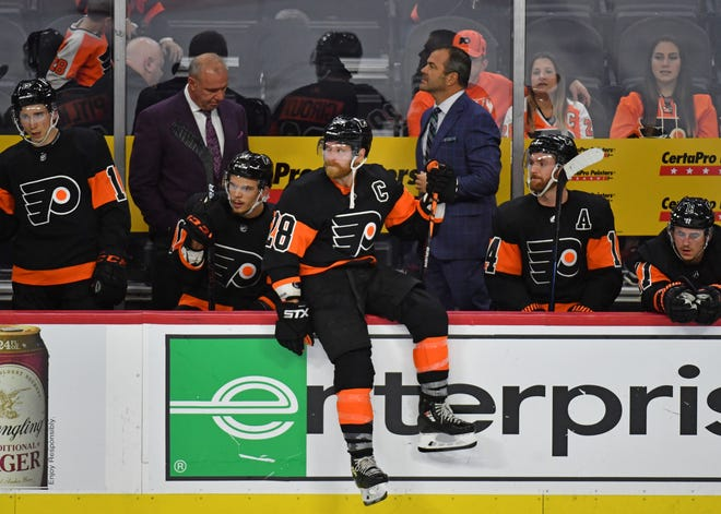 Alain Vigneault's Flyers are averaging only 2.5 goals per game, which ranks them tied for 24th in the league.