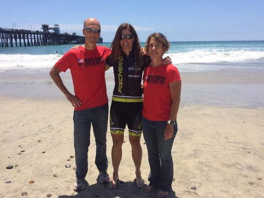 Joe Mann, who was fatally hit by a car Thursday, and his wife, Connie, immediately reached out to Sarah Cooper when they heard she was participating in Race Across the West. They spent days driving alongside her as she biked from California to Colorado.