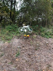 "Russell Price made ""ghost bikes,"" road-side memorials for people fatally hit by cars while biking, for a stranger before. He didn't think he would have to make one for his friend of over 30 years."