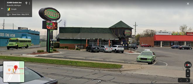 Dooley's restaurant at 32500 Gratiot in Roseville