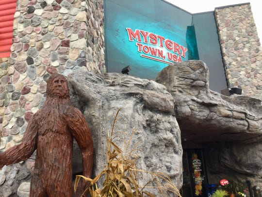 Mystery Town, USA is a tourist attraction in Mackinaw City that brings urban legends like Bigfoot, King Tut and Atlantis to life.