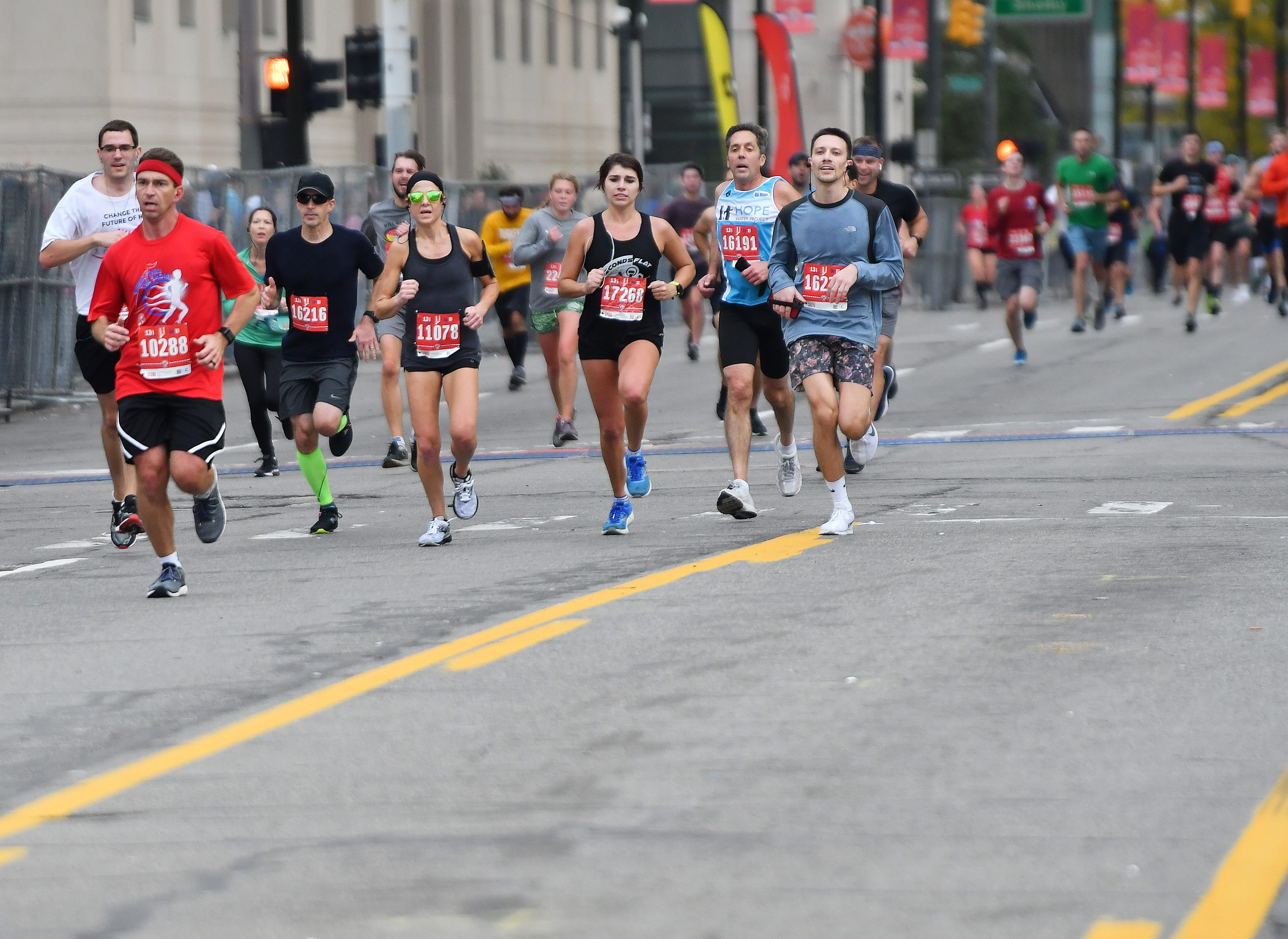 Here's what to expect for this weekend's Detroit Free Press Marathon