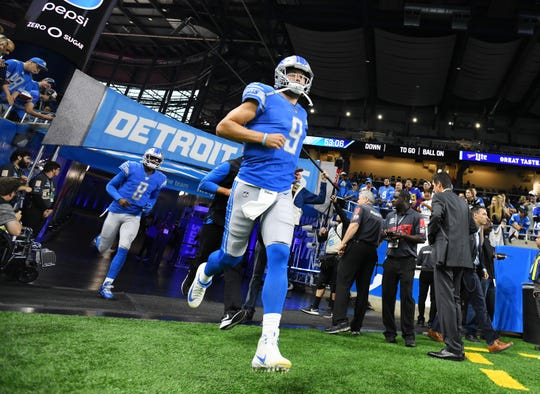 Lions quarterback Matthew Stafford reached 40,000 career passing yards Sunday in 147 games, the fewest in history, besting Atlanta's Matt Ryan, who accomplished the feat in 151 games.
