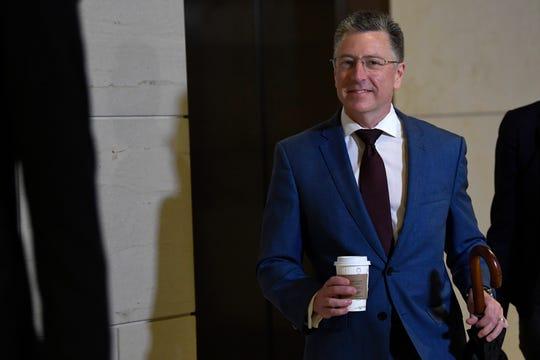 Kurt Volker, President Donald Trump's former special envoy to Ukraine
