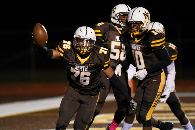 North Farmington is ranked tied for No. 10 in the North Region in The Detroit News high school football rankings for Week 9.
