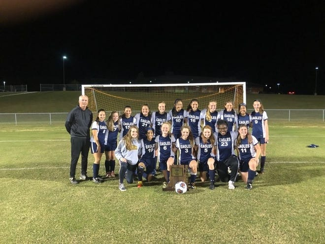 The Day School girls' soccer team, which celebrated its first Class A regional title in school history, lost in the Seymour Semistate on Saturday.