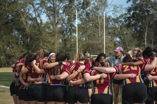 Starting in 1975, FSU women's rugby is one of the oldest club teams on campus.