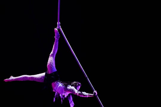 FSU Flying High Circus performing Halloween Series on Friday October 19.