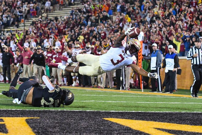 Cam Akers has averaged 102.7 yards per game this season.