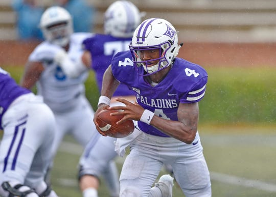 Furman quarterback Darren Grainger will try to bounce back against Western Carolina after completing only five of 25 passes against The Citadel.