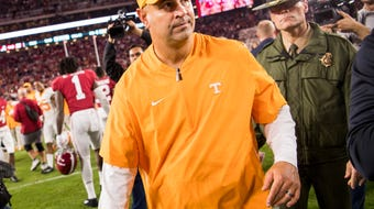 Tennessee lost 35-13 at Alabama on Saturday.