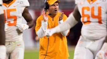 Tennessee lost 35-13 at Alabama on Sunday.