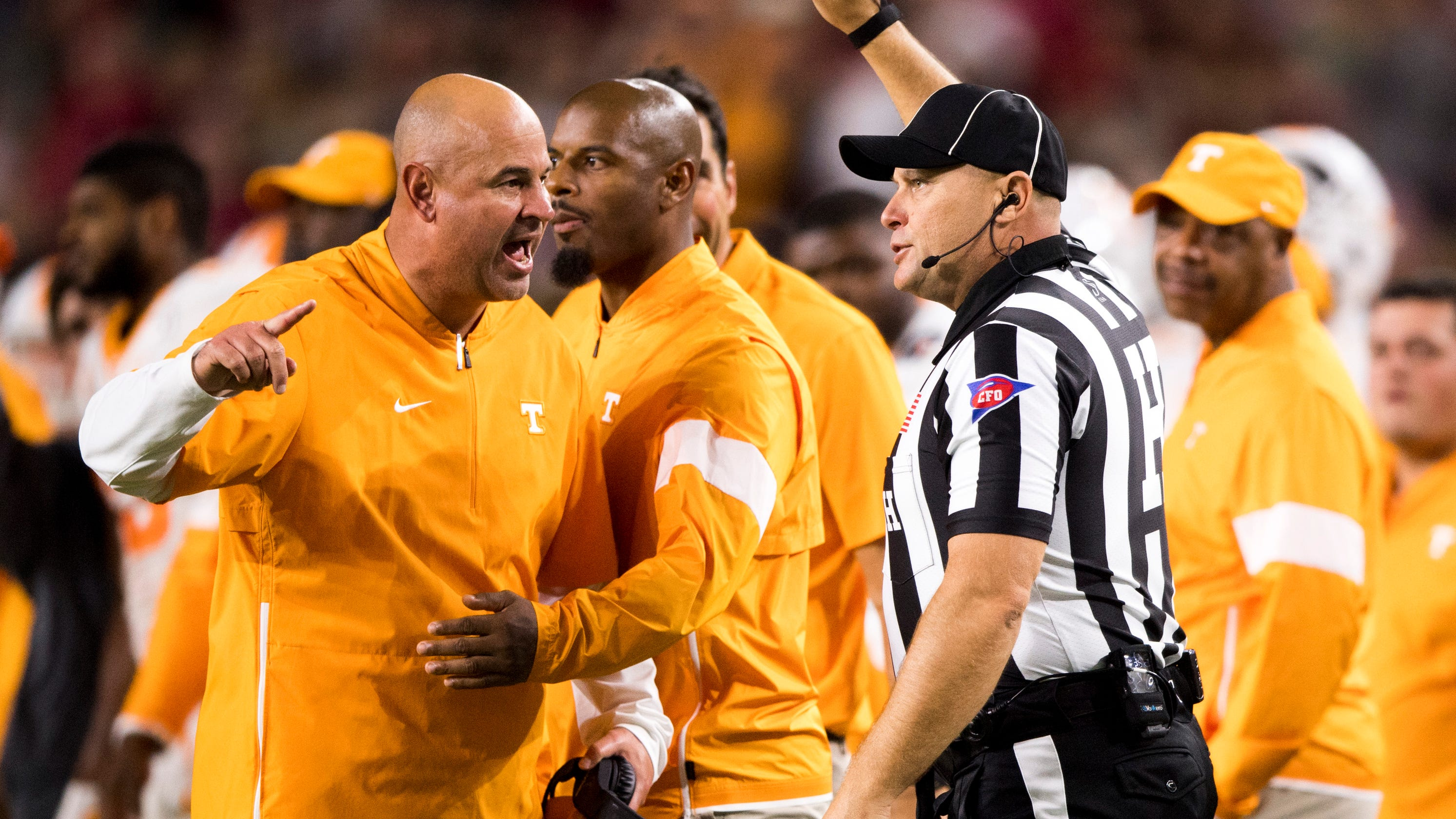 save off 100% high quality order Tennessee football: Jeremy Pruitt on Vols penalties in ...