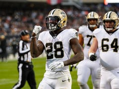 Saints' Murray not surprised he could fill in well for Alvin Kamara in win over Bears