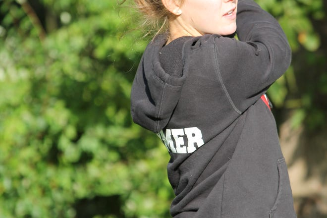 Olivia Ohmer led Pinckney in the state Division 2 golf tournament, shooting 91-84-175 at Forest Akers East.