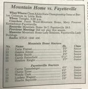 Head-to-head look at the 1994 Class AAAA state championship game in an edition of The Baxter Bulletin.