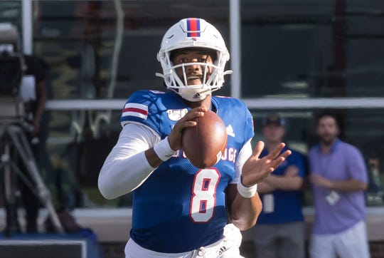 Louisiana Tech defeated Southern Miss 45-30 at Joe Aillet Stadium in Ruston, La. on Oct. 19.