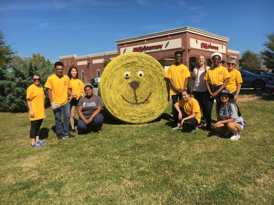 The Pike Road Lions Club and the PRS Leos (the student branch of the Lions Club) had a great time collaborating to create a 2018 Hay, Look at Us! entry. Decorated hay bales will be up in Pike Road through Nov. 3.