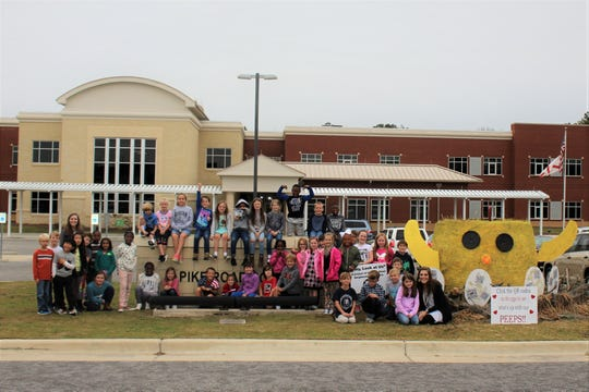 Pike Road Elementary School took home first place in the Business/Organization category in 2018. All three PRS campuses and the PRS Performing Arts Center are participating in 2019.