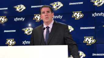 Predators coach Peter Laviolette on loss to the Panthers