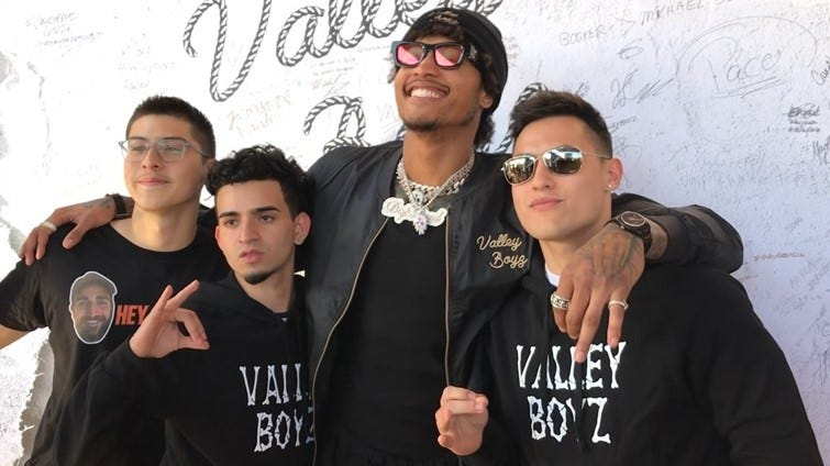 Phoenix Suns: Fans show up for Valley Boyz merchandise pop-up at Manor in Phoenix