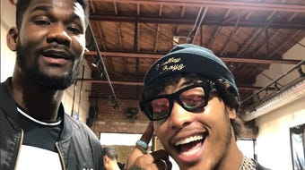 Kelly Oubre Jr. and Deandre Ayton talk about how 'Valley Boyz' came to life after conversation on a plane ride from Sacramento to Phoenix last season.