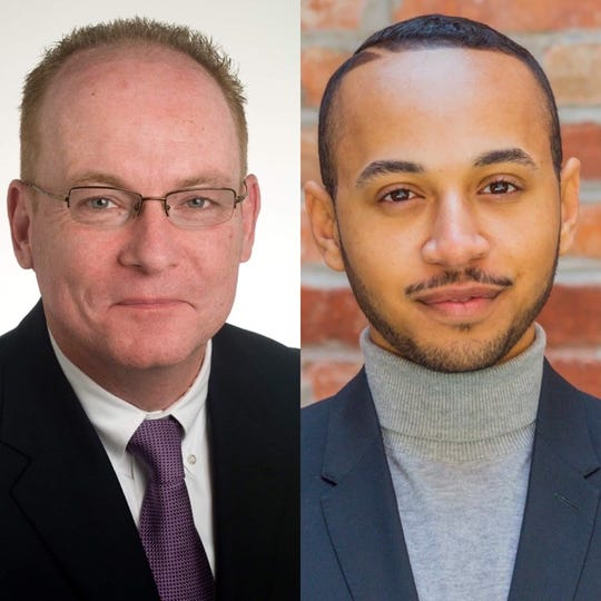 Rob Rolison and Joash Ward are running for City of Poughkeepsie Mayor.