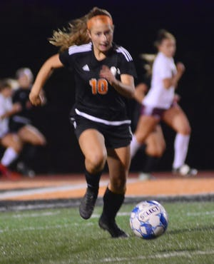 Ava Myers scored one of Central York's two goals on Saturday night.